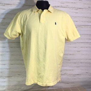 Polo Ralph Lauren Yellow Shirt Size XL